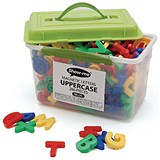 Show-me Magnetic Upper Case Letters - Tub of 286