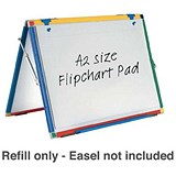 Image of Show-me Flipchart Pad / A2 / Plain / Pack of 5