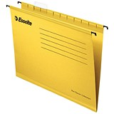 Esselte Classic Suspension Files / A4 / Yellow / Pack of 25