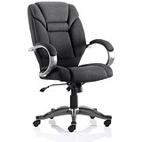 Image of Galloway Executive Chair / Black / Built