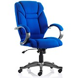 Image of Galloway Executive Chair / Blue / Built