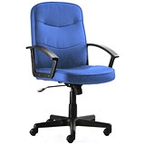 Image of Harley Executive Chair / Blue / Built