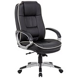 Image of Monterey Leather Executive Chair - Black