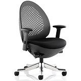 Image of Revo Operator Chair / Black Shell / Charcoal Mesh