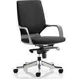 Image of Xenon Medium Back Executive Chair - Black