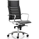 Image of Zico Leather Executive Chair - Black