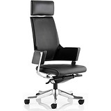 Image of Enterprise Leather Executive Chair - Black