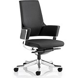 Image of Enterprise Executive Medium Back Chair - Black