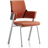 Image of Enterprise Leather Visitor Chair - Tan