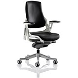 Image of Zure Leather Executive Chair - Black