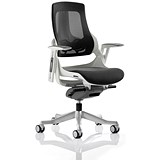 Image of Zure Executive Mesh Chair / Charcoal / Built