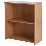 Image of Basix Low Bookcase - Beech