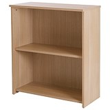 Image of Basix Low Bookcase - Oak