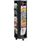 Image of Fast Paper Mobile Carousel / 40 Pockets / Black