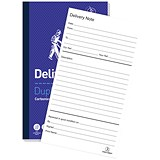 Image of Challenge Carbonless Delivery Note Duplicate Book / 100 Sets / 210x130mm / Pack of 5