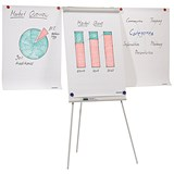 Image of Franken ECO Flipchart Easel / 2 Arm Extensions / Magnetic