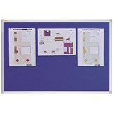 Image of Franken X-traLine Noticeboard / Felt / W2400xH1200mm / Blue