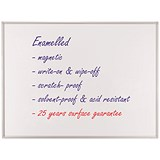 Image of Franken ECO Magnetic Whiteboard / Enamelled Surface / W1800xH900mm