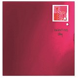 Image of Franken Magnetic Glass Board / W450xH450mm / Red