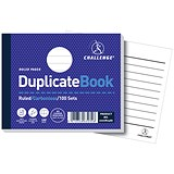 Image of Challenge Carbonless Ruled Duplicate Book / 100 Sets / 105x130mm / Pack of 5