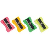 Plastic Sharpeners / Assorted / Pack of 100