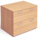 Image of Impulse 2-Drawer Side Filer - Beech