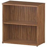 Image of Impulse Low Bookcase - Walnut