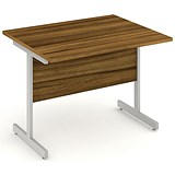 Impulse Return Desk / 1000mm Wide / Walnut / Installed