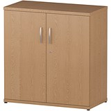 Image of Impulse Low Cupboard - Oak