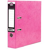 Concord A4 IXL Lever Arch Files / Pink / Pack of 10