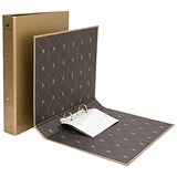 Image of Concord Noir Ring Binder / A4 / Gold / Pack of 10