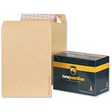 Image of New Guardian C3 Heavyweight Board-backed Envelopes / Peel & Seal / Manilla / Pack of 50