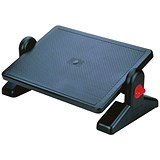 Image of Q-Connect Foot Rest - Black