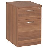 Image of Avior 2-Drawer Mobile Pedestal - Cherry