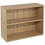 Avior Low Bookcase / 800mm High / Ash