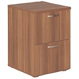 Image of Avior 2-Drawer Filing Cabinet - Cherry
