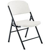 Jemini Folding Chair - White