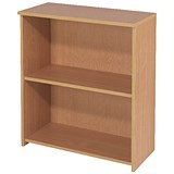 Image of Jemini Intro Low Bookcase - Beech
