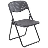 Jemini Folding Chair / Black / Pack of 4