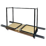 Jemini Folding Exam Desk Trolley - 40 Desk