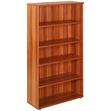 Image of Avior Tall Bookcase / 1800mm High / Cherry