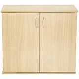 Image of Jemini Intro Desk High Cupboard / 800mm Wide / Maple