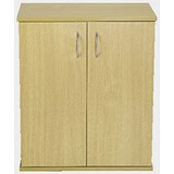 Image of Jemini Intro Desk High Cupboard / 600mm Wide / Oak