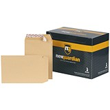 Image of New Guardian Heavyweight C5 Pocket Envelopes / Manilla / Peel & Seal / Pack of 250