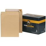 Image of New Guardian Heavyweight Pocket Envelopes / 305x250mm / Manilla / Peel & Seal / Pack of 250