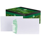 Image of Basildon Bond Recycled C5 Pocket Envelopes / White / Peel & Seal / 120gsm / Pack of 500