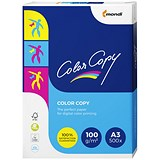 Image of Color Copy A3 Paper / White / 100gsm / Ream (500 Sheets)