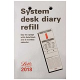 Image of Letts 2018 System Desk Refill