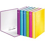Image of Leitz WOW Ring Binder / A4 / 25mm Capacity / Assorted / Pack of 10
