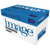 Image of Image Light A4 Multifunctional Paper / White / 75gsm / Box (5 x 500 Sheets)